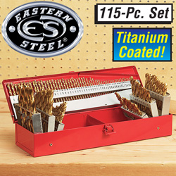 115 Piece Drill Bit Set  Model# CJDH-1153