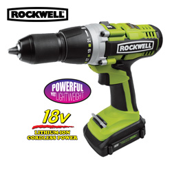 Rockwell 18V Drill&nbsp;&nbsp;Model#&nbsp;RK2810K