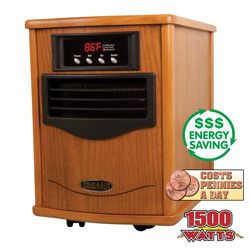 Heat-A-Lot Infrared Heater  Model# HLX1500WOA