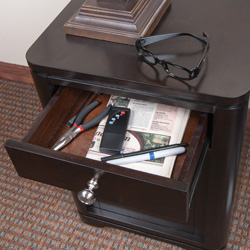 Duraflame IR Heater End Table  Model# 10HET4128