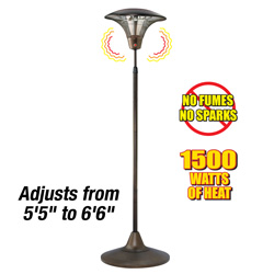 Free Standing Patio Heater  Model# NPO-15L00