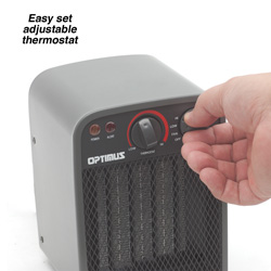 Optimus Ceramic Heater  Model# H-7002
