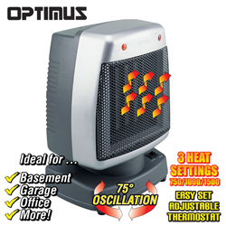 Oscillating Ceramic Heater  Model# H-7246