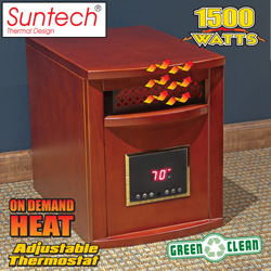 Walnut Suntech Heater  Model# LRC2000-WALNUT