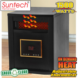 Black Suntech Heater  Model# LRC2000-BLACK