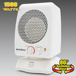 Del-Rain Oscillating Ceramic Heater  Model# LT-2200