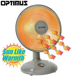 Optimus 9 Inch Dish Heater  Model# H-4110