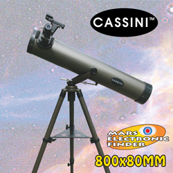 Cassini 800X80mm Reflector Telescope  Model# CS-80