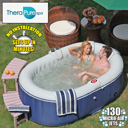 TheraPure Inflatable Spa  Model# EST5870
