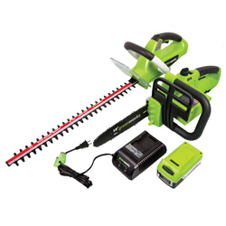 Chainsaw & Hedge Trimmer Combo Pack