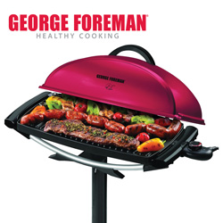 George Foreman Indoor/Outdoor Grill  Model# GGR201RCDR
