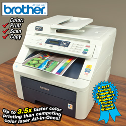 Brother Laser Printer&nbsp;&nbsp;Model#&nbsp;MTC-9010CN