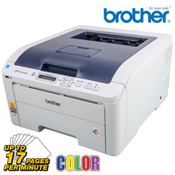 Brother Wireless Color Printer  Model# HL3070CW
