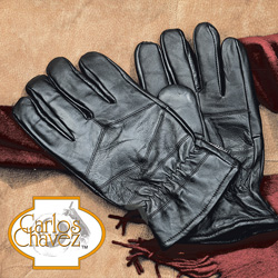 Mens Leather Patch Gloves  Model# 15A:10