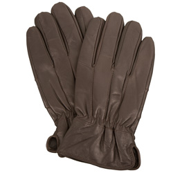 2 Pairs of  Brown Leather Thinsulate Gloves  Model# JA-30-704-8BR-LX