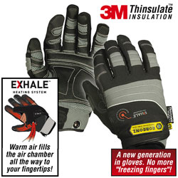 Gorgonz Exhale Winter Gloves  Model# 850-XL