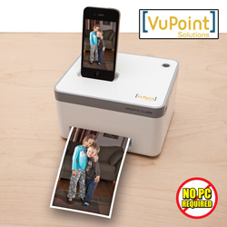 Photo Cube Photo Printer  Model# IP-P10-VP-RB