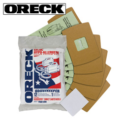 12 Pack Oreck Filter Bags  Model# PPBB12DW