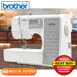 80 Stitch Brother Sewing Machine  Model# RCE8080PRW