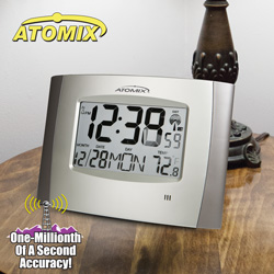 Atomix Digital Wall Clock  Model# 00562