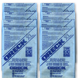 8 Pack Filter Bags For Oreck XL Classic Vacuum Item Number 59220  Model# CCPK8DW