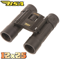 BSA Optics 12X25 Binoculars  Model# C12X25ACP