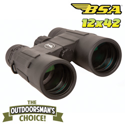 BSA Optics 12X42 Binoculars  Model# MB12X42