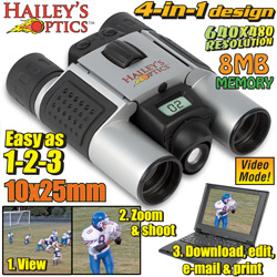 Haileys Optics ® Binoculars With Digital Camera  Model# SY-151B