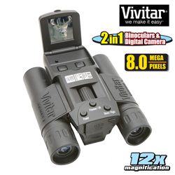 Digital Camera with Binoculars  Model# VIV-CV-1225V/KIT-AD