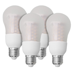 Warm 5W LED Bulb - 4 Pack  Model# 605052
