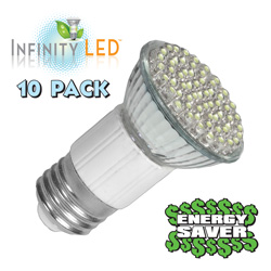 10-Pack Warm Ultra LED Lites&nbsp;&nbsp;Model#&nbsp;UF-2WW/10PK