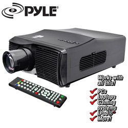 Widescreen LED Projector  Model# PRJLE44