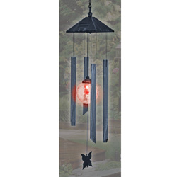 Solar Light With Chimes  Model# ESL-67
