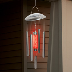 Solar Wind Chime Light  Model# NC6008