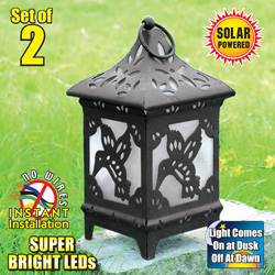 Solar Garden Light (2Pack)&nbsp;&nbsp;Model#&nbsp;XQSL120