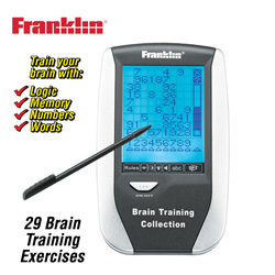 Franklin Brain Trainer&nbsp;&nbsp;Model#&nbsp;BRN-340WB