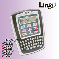 Lingo 6-Language Translator  Model# WM-6C