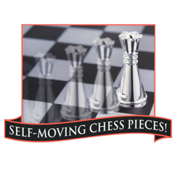 Phantom Electronic Chess Set  Model# XC5559BK