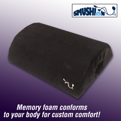 Smushion Memory Foam Cushion&nbsp;&nbsp;Model#&nbsp;RD BLACK