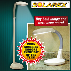 Sun Lamp Combo Pack  Model# CD-001/CD-026