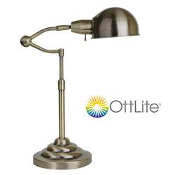 OttLite Ashley Table Lamp  Model# 15P86NK8
