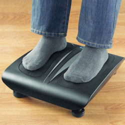 Heated Shiatsu Foot Massager  Model# LA-159