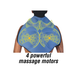 Air-O-Sage Back/Shoulder Massager  Model# BK0415