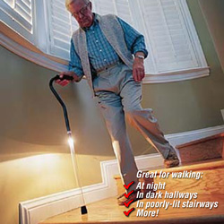 EZ Light-Up Cane&nbsp;&nbsp;Model#&nbsp;LA-088