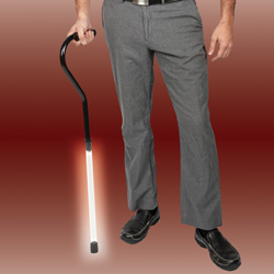 EZ Light-Up Cane  Model# LA-088