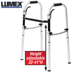Lumex Fold-Away Walker&nbsp;&nbsp;Model#&nbsp;700176C