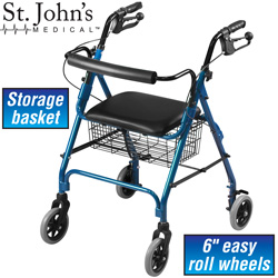 Premium Rolling Walker&nbsp;&nbsp;Model#&nbsp;WCL-A601