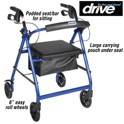 Rollator - Blue  Model# R726BL