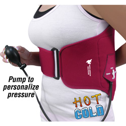 Hot/Cold Compress Back Wrap  Model# JB6095