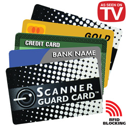 Scanner Guard Cards - 4 Pack  Model# SC001